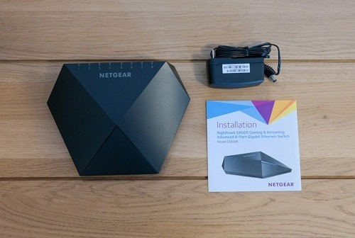 NetGear Nighthawk Ethernet Switch Package